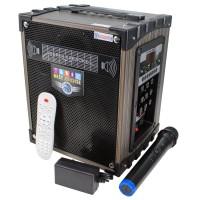 LT-906 Super Bass Şarjlı Mikrofonlu Prof Hoparlör Sistemi