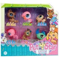 Littlest Pet Shop Neşeli Minişler 6lı Oyuncak Seti V2