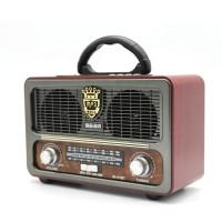 Meier M-111BT Vintage Bluetootlu Nostaljik Radyo Ahşap