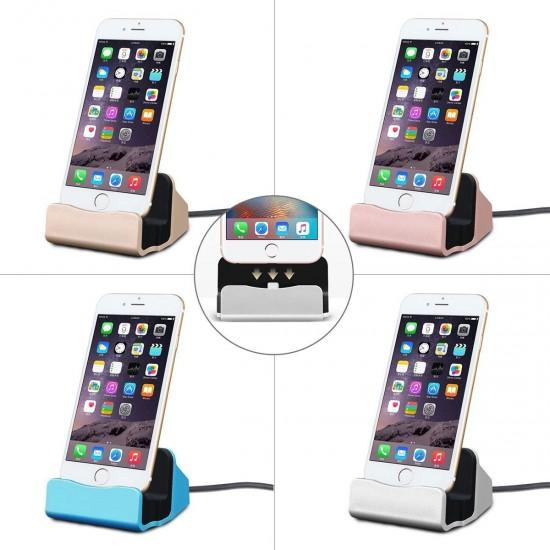 Masaüstü Şarj Aleti Stand Dock iPhone Uyumlu Siyah