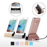 Masaüstü Şarj Aleti Stand Dock iPhone 5 5S 6 6S 7 8 X SE Plus