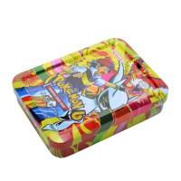 Metal Kutulu Pokemon Oyun Kartları 41 Adet