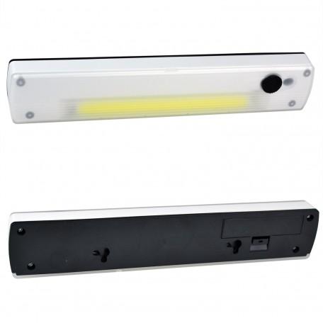 Mıknatıslı Cırtlı Pilli Kablosuz Anahtarlı LED Lamba HB-24