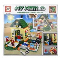 Minecraft My World SY932 405 Parça Lego Seti