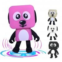 Mini Bluetooth Hoparlör Wireless Portatif Dans Eden Robot Köpek