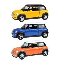 Mini Cooper Açılır Kapı Çek Bırak Oyuncak Metal Araba