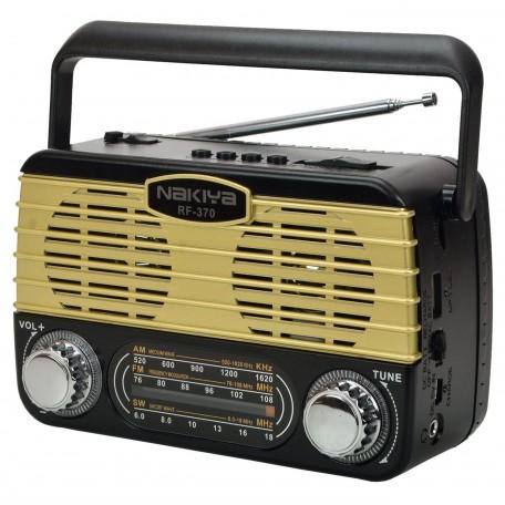 Nakiya RF-370 USB Radyo Çalar Müzik Kutusu 15 Cm