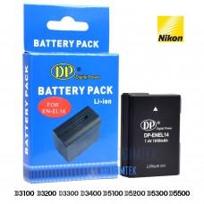 Nikon EN-EL14 Batarya D3100 D3200 D3300 D3400 D5100 D5200 D5300 D5500