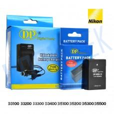 Nikon EN-EL14 Şarj Aleti ve Bataryası D3100 D3200 D3300 D3400 D5100 D5200 D5300 D5500