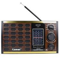 Nostaljik Radyo Retro Ahşap USB Micro SD MP3 Çalar 22 Cm