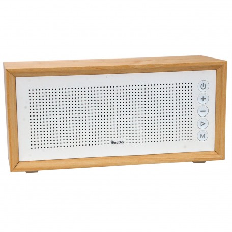 OneDer V2 Wireless Speaker Radyo USB Müzik Kutusu 22 Cm
