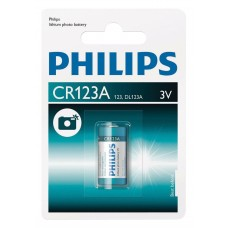 Philips Cr123a Dl123a Pil Lithium 3v Kamera..Vs Tekli Blister
