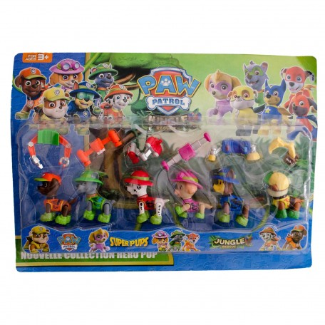 Paw Patrol Jungle Rescue Oyuncak Seti