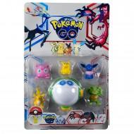 Pokemon Go Oyuncak Pikachu Figür Seti