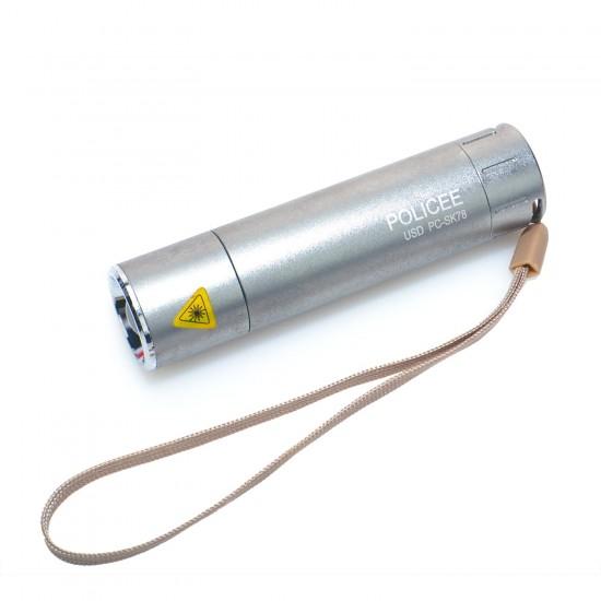 Police PC-SK78 Cree Xenon Ampullü Kızaklı 3 Kademe El Feneri