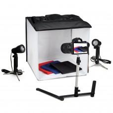 Portatif Softbox Işıklı Ürün Çekim Çadırı Tripodlu