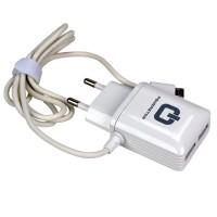 Powerstar PS-23 Cep Telefonu Hızlı Şarj Aleti 2.4 Amper 2x USB