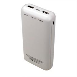 Powerstar PB-21 20000mAh Powerbank 2 USB Micro Type C Şarj Aleti