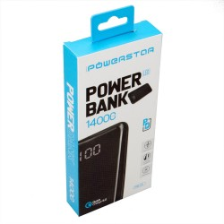 Powerstar PB13 14000mAh Powerbank Qualcomm Quick Charge 3.0 TypeC