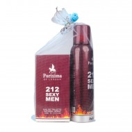 Purixima 212 Sexy Men Erkek EDT 50ml Parfüm ve Deo 150 ml Set