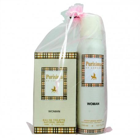 Purixima Kadın EDT 50ml Parfüm ve Deo 150 ml Seti