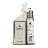 Purixima La Vie Kadın EDT 50ml Parfüm ve Deo 150 ml Seti