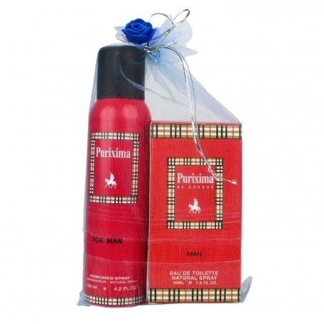 Purixima Of London Erkek EDT 50ml Parfüm ve Deo 150 ml Set