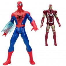 Spider-Man vs Demir Adam Sesli Işıklı Et Kemik Oyuncak Seti