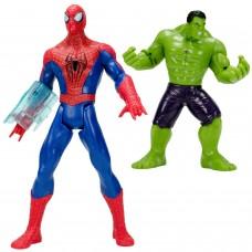 Spider-Man vs Hulk Sesli Işıklı Örümcek Et Kemik Oyuncak Set