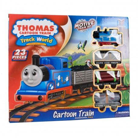 Thomas Cartoon Train Tren Seti 23 Parça
