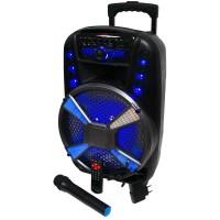 Trolley V162 Bluetooth Şarjlı Taşınabilir Karaoke Eğlence Seti