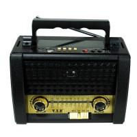 VXR VX-340US Güneş Enerjili Extra Bass USB FM Radyo Fener