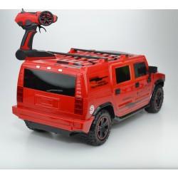 Vardem Kumandalı 1:12 Amerikan Jeep 33 Cm Şarjlı Kırmızı