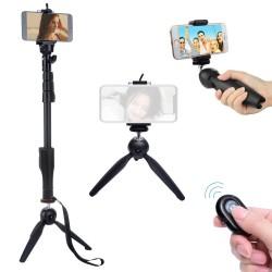 Yunteng YT-188 Monopod Selfie Çubuğu 125cm