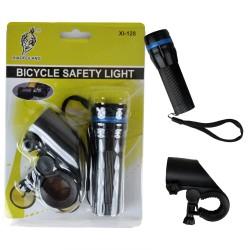 Zoomlu Beyaz Işık Bisiklet Farı