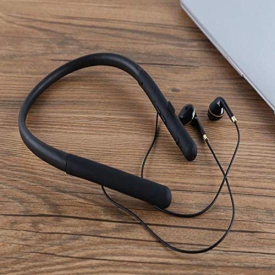 TF-200 Bluetooth Kulaklık 5.0 Spor Boyun Tipi TF Hafıza Kartı Oynatıcı