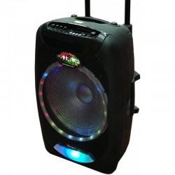 OM&S OM F-15 Siyah Koblosuz Mikrofonlu Sd+Fm Bluetooth Toplantı Anfisi Akustik Sistem