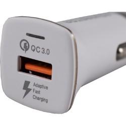 Powerstar Araç Şarjı Hızlı Şarj Cihazı Micro Kablo Çakmaklık 3.0A Asmh-05