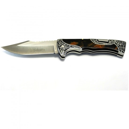 Columbia B3157 B Full Rivet Pocket Knife Çakı