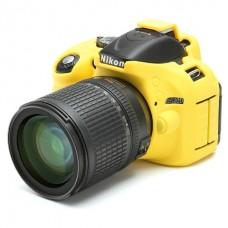 Nikon D5100 D5200 Dslr Kamera Koruyucu Silikon Kauçuk Case
