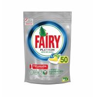 Fairy Platinum Bulaşık Deterjanı Kapsülü 50 Yıkama Limon