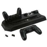 PS4 Slim/Pro Çift Fanlı Dikey Soğutucu ve Kol Şarj Edici