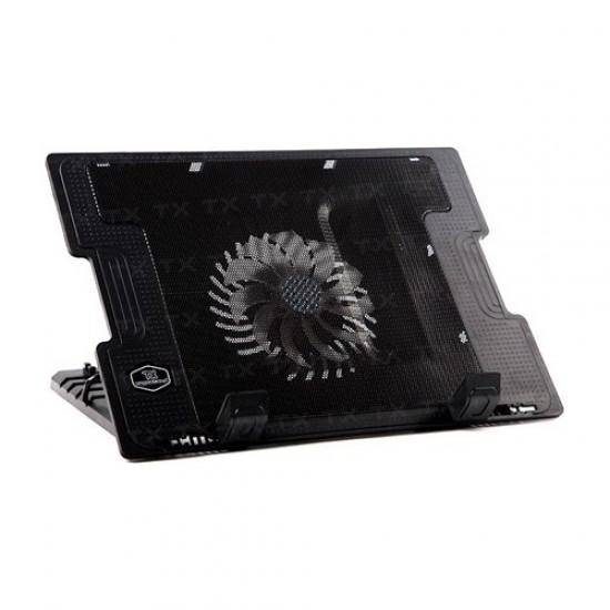 """ErgoStand 17"""" 14cm Fanlı 5 Kademeli 2x USB HUB Notebook Soğutucu"""