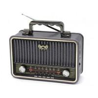Kemai MD-1908BT Bluetootlu Nostaljik Radyo Ahşap Büyük Boy