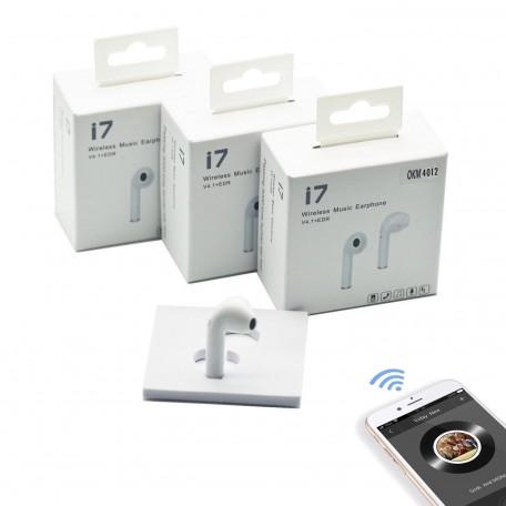 i7 Tekli Kablosuz Bluetooth V5 Kulaklık