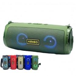 Kms-223 Taşınabilir Kablosuz Bluetooth Hoparlör Led Işıklı USB, FM Radyo