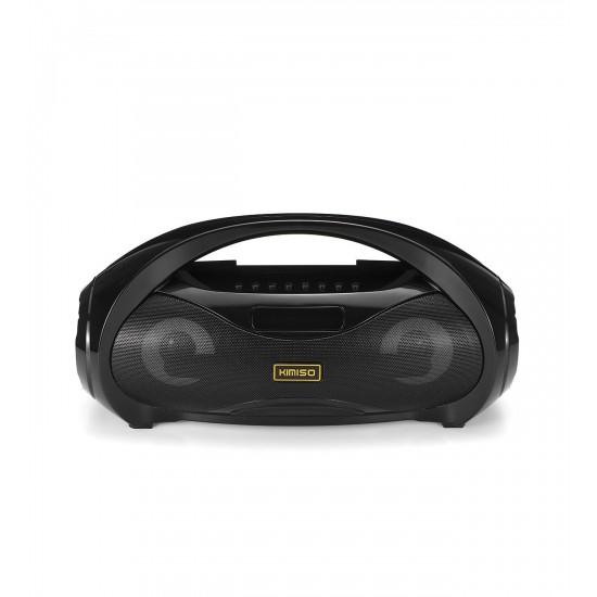 Mikrofonlu Bluetooth 5.0 Speaker Işıklı Hoparlör Kimiso KM-S2(S1) Ses Bombası Radyo USB