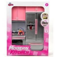 Vardem Oyuncak Kutulu Modern Inox Gri Mutfak Seti