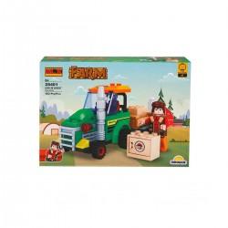 Çiftlik Set Traktör 1 Figür 103 Parça Oyuncak