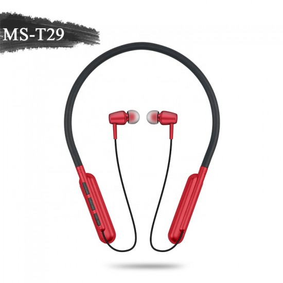 Ms-t29 Boyun Bandı Bluetooth Stereo Kulaklık